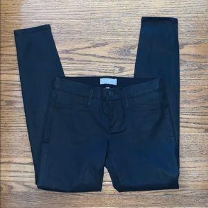 BANANA REPUBLIC black shimmer jeans 26